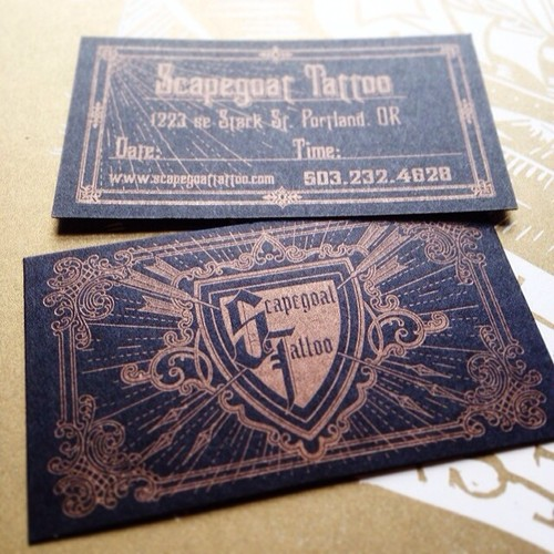 Serial Machinist 23rd Studios Blog Letterpress Business Card