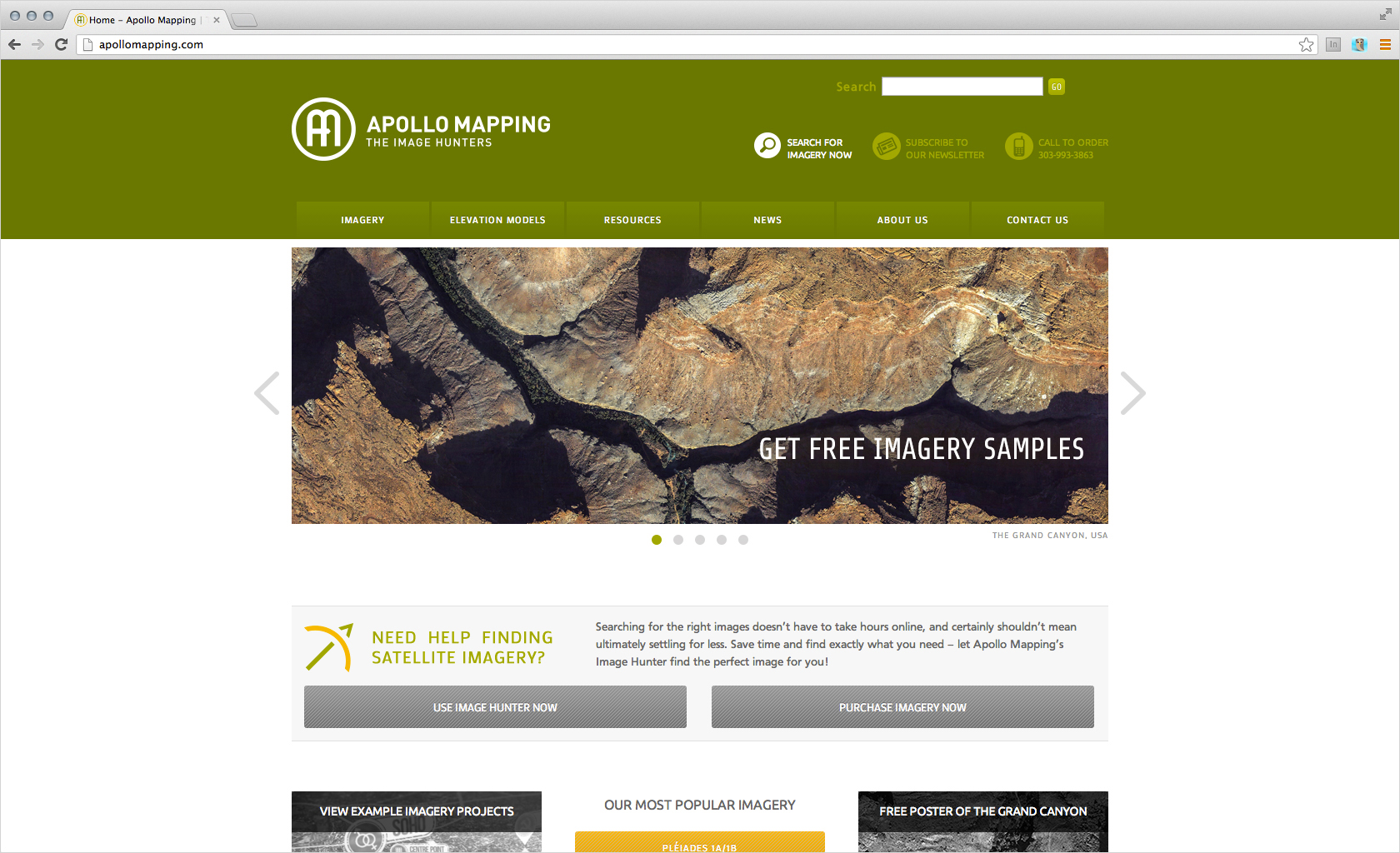 apollo mapping website redesign 23rd studios