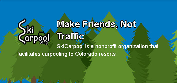 Ski Car Pool Colorado Ride Sharing 23rd Studios Boulder Denver