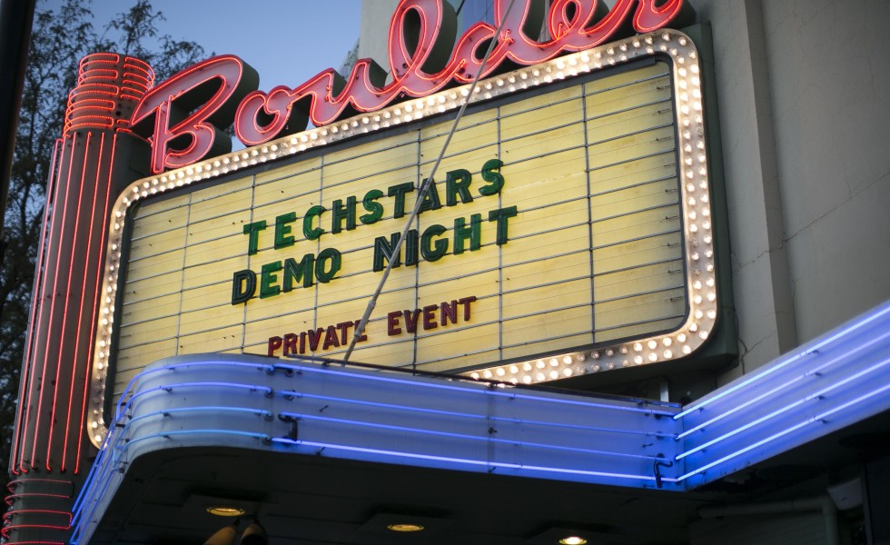 Techstars Boulder 2015 Demo Night 23rd Studios Photography Hobby DB Adhawk Softlayer Blazing